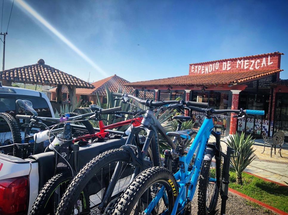 oaxaca mountain bike tour trail bike