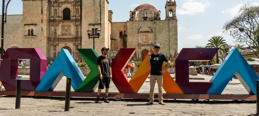 KURT SORGE AND JAMES DOERFLING IN OAXACA